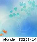 背景-和-和風-和柄-和紙-紅葉-夏-水色-清流-沢蟹 53228416
