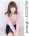 女性 女の子 ヘアスタイルの写真 53229793