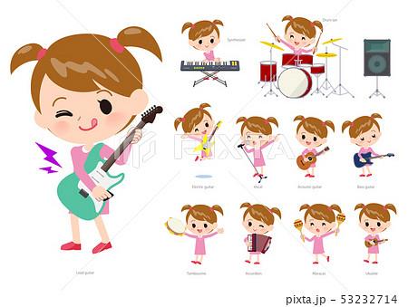 Pink clothing girl_pop music 53232714
