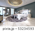 The modern design of the bedroom with a large 53234593