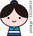 彦星 七夕 笑顔のイラスト 53238010