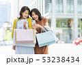 女性 若い ショッピングの写真 53238434