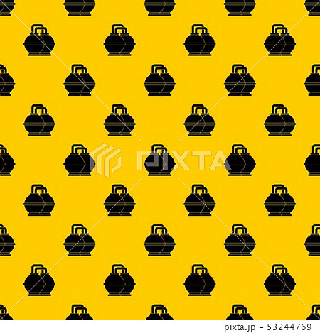 Industrial tanks for petrol and oil pattern vector 53244769