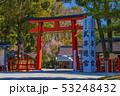 京都 春の上賀茂神社 二の鳥居   53248432