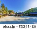 京都 春の上賀茂神社 境内風景    53248480