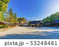 京都 春の上賀茂神社 境内風景    53248481