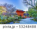 京都 春の上賀茂神社 楼門 53248488