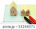土地 建物 不動産 越境 境界トラブル イメージ 53249371