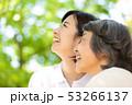 介護イメージ シニア女性と介護士 53266137