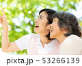 介護イメージ シニア女性と介護士 53266139