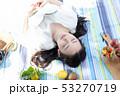 ピクニック 読書 昼寝 53270719