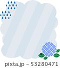 フレーム ベクター 花のイラスト 53280471