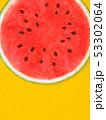 背景-夏-スイカ-オレンジ 53302064