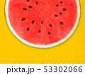 背景-夏-スイカ-オレンジ 53302066