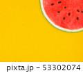 背景-夏-スイカ-オレンジ 53302074