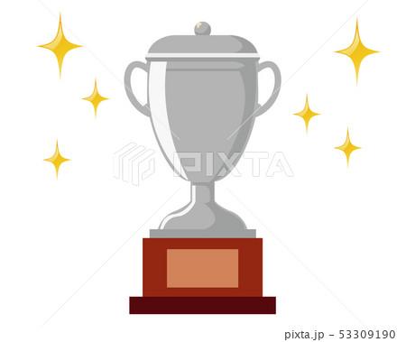 トロフィー 優勝 カップ 優勝カップ 銀  53309190