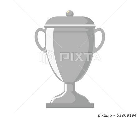 トロフィー 優勝 カップ 優勝カップ 銀  53309194