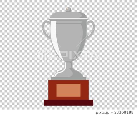 トロフィー 優勝 カップ 優勝カップ 銀  53309199