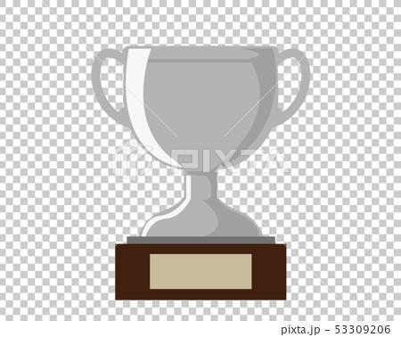 トロフィー 優勝 カップ 優勝カップ 銀  53309206