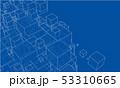 立体 3D 3Dのイラスト 53310665