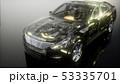 車 自動車 エンジンのイラスト 53335701