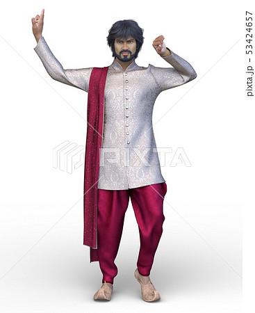 インドの男性 53424657