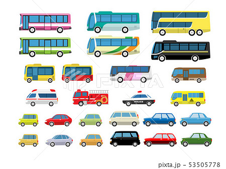 バス自動車セット 53505778