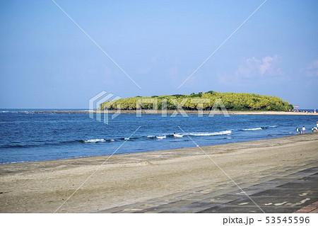 青島ビーチ 53545596