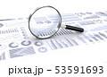 ビジネス資料をルーペで調べる 53591693