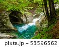 新緑の西沢渓谷 母胎淵(甌穴) 53596562
