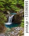 新緑の西沢渓谷 恋糸の滝 53596995