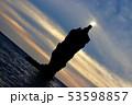 ローソクの灯火 53598857
