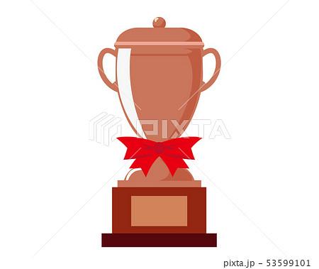 トロフィー カップ 銅 銅賞 3位  53599101