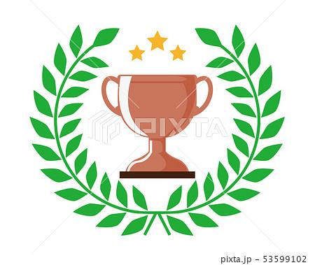 トロフィー カップ 銅 銅賞 3位  53599102
