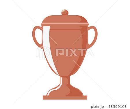 トロフィー カップ 銅 銅賞 3位  53599103