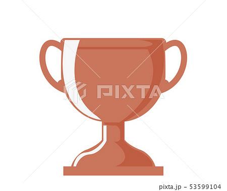 トロフィー カップ 銅 銅賞 3位  53599104
