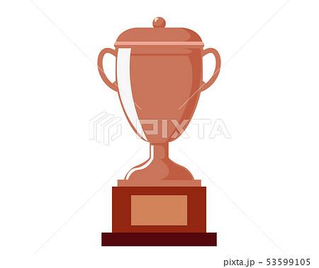 トロフィー カップ 銅 銅賞 3位  53599105