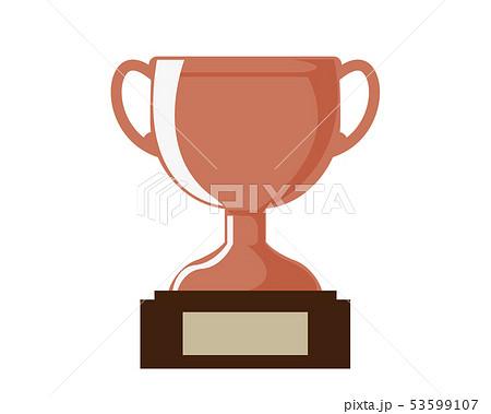 トロフィー カップ 銅 銅賞 3位  53599107