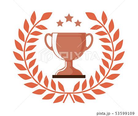 トロフィー カップ 銅 銅賞 3位  53599109