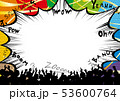 歓声 応援 声のイラスト 53600764