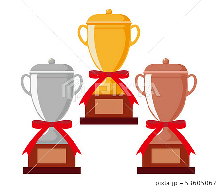 トロフィー 優勝 カップ 優勝カップ 金 銀 銅 53605067