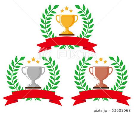 トロフィー 優勝 カップ 優勝カップ 金 銀 銅 53605068
