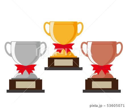 トロフィー 優勝 カップ 優勝カップ 金 銀 銅 53605071