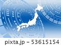 日本地図 53615154