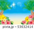 リゾート 夏 ビーチのイラスト 53632414