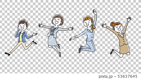 職業女性:跳躍 53637645