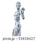 アンドロイド ロボット 人型ロボットのイラスト 53638427
