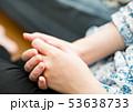 女性 手 ストレスの写真 53638733