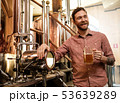 Man tasting fresh beer in a brewery 53639289