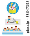 おもちゃ箱砂場遊びプール 53647358